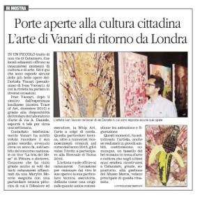 Esposizione di Ivan Vaccari